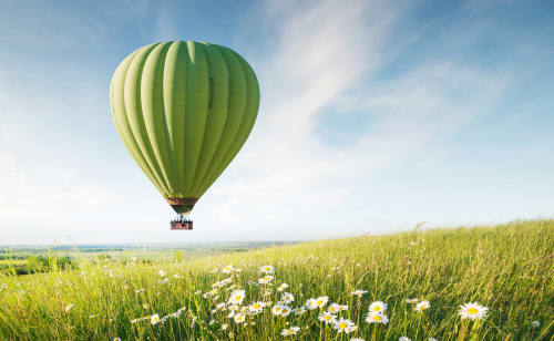 hot-air-baloon-green-field-scenery