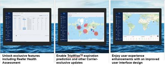 Carrier Transicold TripLINK platform