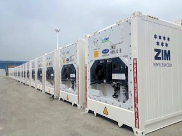 Carrier Transicold PrimeLINE units for ZIM