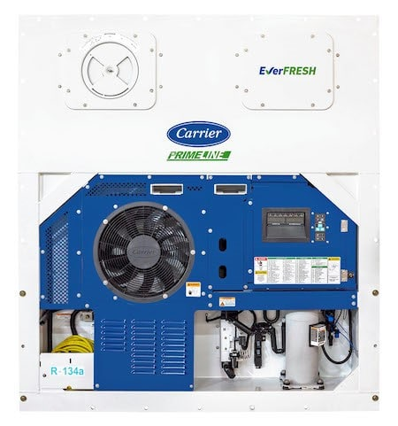 Carrier Transicold EverFRESH with CO2 injection